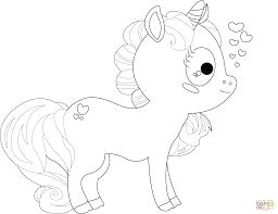 Unicorn With Wings Coloring Page Free Printable Pages
