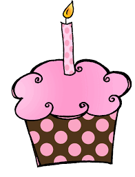 Happy Birthday Cupcake Clip Art and Nice