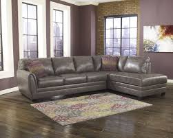 Grey Leather Sectional Living Room Ideas by Furniture L Shaped Gray Leather Sectional Sofa With Chaise And