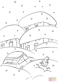 Click The Winter Weather Coloring
