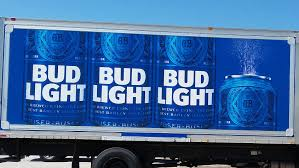 100 Bud Light Truck The Graphics Factory