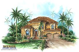 100 Narrow Lot Home Mediterranean House Plan 2 Story Floor Plan