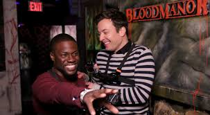 Jimmy Kimmel Halloween Candy 2010 by Kevin Hart Visits A Haunted House With Jimmy Fallon U2013 Watch The