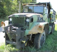 100 Army 5 Ton Truck M1A2 Ton 6x6 Army Truck With 10 Dump Bed Item 3134