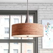 Wayfair Chandelier Lamp Shades by Wood Pendant Lights You U0027ll Love Wayfair