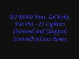 dj dmd ft lil keke fat pat 25 lighters mp3 download