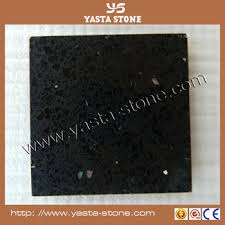 cheap 30x30 quartz black floor tiles with sparkle buy
