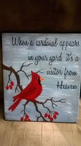Image Result For Christmas Paintings Crafts Birds
