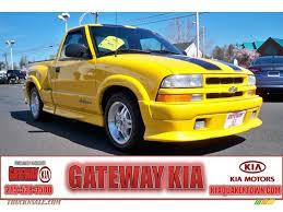 2003 Chevrolet S10 Xtreme Regular Cab In Yellow - 167342   Truck N ... Chevrolet S10 Ev Wikipedia 2000 Chevy Sold 6400 Auto 1987 For Sale Classiccarscom Cc1056579 2003 Low Miles Sale In South Burlington Vt 05403 Used 1994 Ls Rwd Truck For 41897a Off Road Classifieds Norra Race Truck Little Mac Hot Rod 1997 Chevy Truck Restro Mod 1999 Chevy S10 York Pa 17403 1996 Gateway Classic Cars 1056tpa Vintage Pickup Searcy Ar Pensacola Fishing Forum 1993 44 Tinker Man Things
