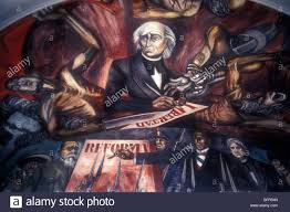 Jose Clemente Orozco Murales by Mural By Jose Clemente Orozco Showing Miguel Hidalgo And Fathers