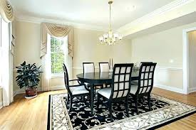 Rugs For Dining Room Best Size Under Table