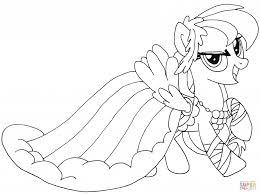 Printable Sensational Design My Little Pony Coloring Pages Fluttershy Free Rainbow Dash Princess Twilight Sparkle