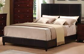 Black Leather Headboard Queen by Catchy Black Leather Headboard Acme Ridge Queen Panel Bed With Pu