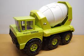 Metal Tonka Trucks Cement Mixer