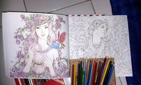 Anti Stress Coloring Book For Adults Fantasia