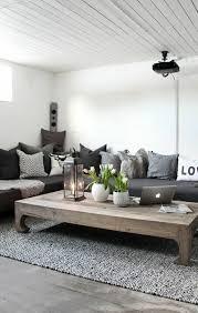 salon avec canapé gris canape gris moderne canap moderne personnes en tissu gris