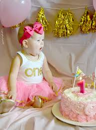 Pink And Gold Birthday Themes by Pink And Gold 1st Birthday Party Lou Lou Girls