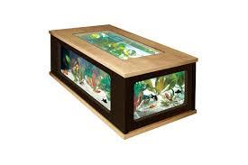 acheter table basse aquarium pas cher le bois chez vous