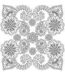 Art Therapy Coloring Pages To Print Anti Stress Book American Hippie Zentangle