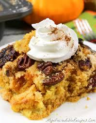 Pumpkin And Cake Mix Dessert by Pumpkin Pecan Dump Cake