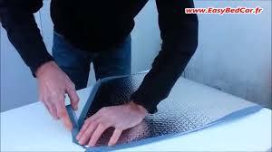 le kit de réalisation des rideaux isolants pour véhicules