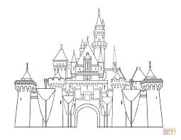 Click The Disney Castle Coloring Pages To View Printable