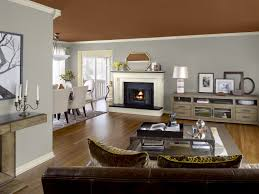Best Living Room Paint Colors 2015 by Living Room Paint Ideas Wooden Nightstand Sofa Chairs Brown