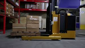 100 Powered Industrial Truck BGS Walkie Stackers YouTube