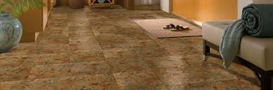 Armstrong Groutable Vinyl Tile Crescendo by Vinyl Tile Terracotta Clay A3239