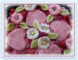 décoration de gâteau en pâte d amandes pâte damande
