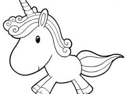 Unicorn Coloring Pages Cute To Print