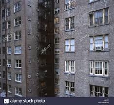 Open Windows In Rundown Entrancing City Apartments