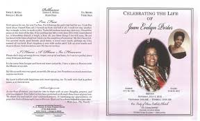 Joan Evelyn Porter Obituary