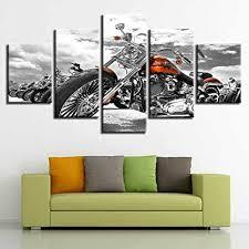 iiiuhu 5 stück leinwanddrucke hd panel wand aufhängen bilder
