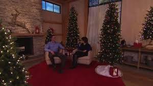 Qvc Christmas Tree Storage Bag by Bethlehem Lights 7 5 U0027 Aspen Pine Christmas Tree W Instant Power