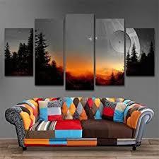 girdssc 5 teilig leinwanddrucke wandbilder wohnzimmer modern