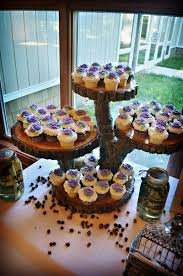 Wood Log Custom Rustic Cupcake Stand By RuffsRustic On Etsy 20000