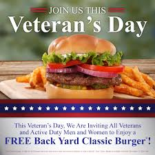 Veterans Day – Friday November 11 – Back…