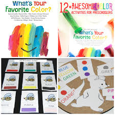 Eric Carle Playful Learning Color Activities For Preschoolers The