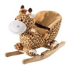 Amazon.com: Qaba Kids Brown Plush Rocking Horse-Style Giraffe Themed ... Kinbor Baby Kids Toy Plush Wooden Rocking Horse Elephant Theme Style Amazoncom Ride On Stuffed Animal Rocker Animals Cars W Seats Belts Sounds Childs Chair Makeover Farmhouse Prodigal Pieces 97 3 Miniature Teddy Bears Wood Rocking Chairs Strombecker Buy Animated Reindeer Sing Grandma Got Run Giraffe Chairs Cuddly Toys Child For Custom Gift Personalised Girls Gifts 1991 Gemmy Musical Santa Claus Christmas Decoration Shop Horsestyle Dinosaur Vintage155 Tall Spindled Doll Chair Etsy