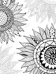 Papillon Sur Un Vecteur De Livre De Coloriage De Fleur 9999 Livre De