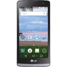 Straight Talk LG Sunset 8GB Prepaid Smartphone Black Walmart