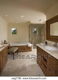 steinboden sinken duschkabinen und badewanne in a