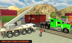 100 Truck Mania 1 USA Forklift Crane Oil Tanker Game For Android APK