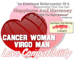 cancer woman and virgo man a happy and harmonious relationship