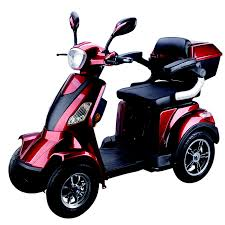 500W 4 Wheel Electric Scooter Adults Wheeler With Large WheelsES 042
