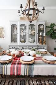 Be Inspired To Create A Gorgeous Rustic Thanksgiving Tablescape With These Decorating Ideas