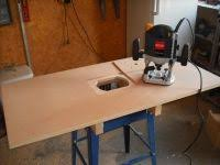 horizontal tilt top router table project router table free
