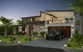 Modern House Fronts by Modern House Front Elevation Designs Search House
