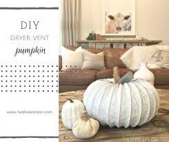 Dryer Vent Pumpkins Tutorial by Diy Dryer Vent Do It Your Self